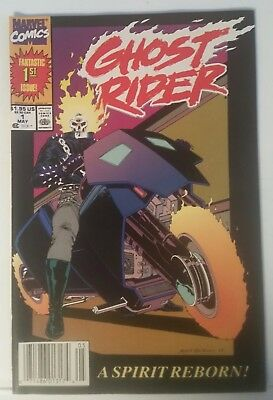 Ghost Rider # 1 - Marvel Comics - May 1990