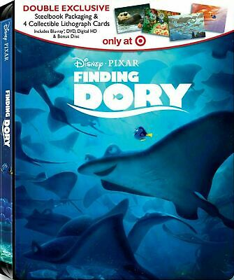 Finding Dory - Limited Edition Steelbook [Blu-ray + DVD] New and Sealed!!