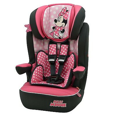 Disney Minnie Mouse I Max Imax SP 1-10yr Baby Child Car Seat Booster FF