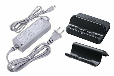 PEGLY P-SET3 Power AC Charger Adapter for Nintendo Wii U Game Pad with Black ...