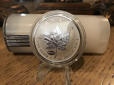 Canada  Maple Leaf  E=mc2 Roll  25 oz Tube Limited minted 50k  Last Roll