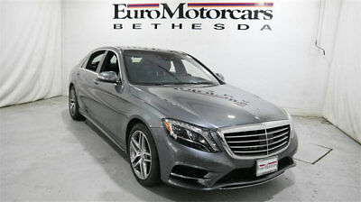 Mercedes-Benz S-Class 4dr Sedan S 550 4MATIC mercedes benz s550 s 550 4matic awd used 15 16 gray silver certified navigation