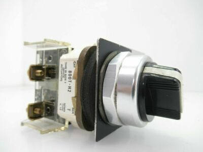 800T-H2  800TH2  allen bradley Selector Switch, 2-Position (Used Tested)