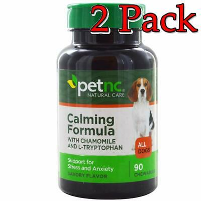 Petnc Calming Formula for Dogs Chewables, 90ct, 2 Pack 740985274859A481