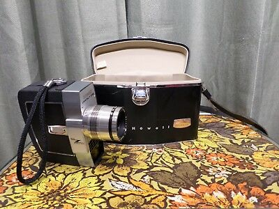 Director Series Electric Eye Bell & Howell Zoomatic Movie Camera & Case