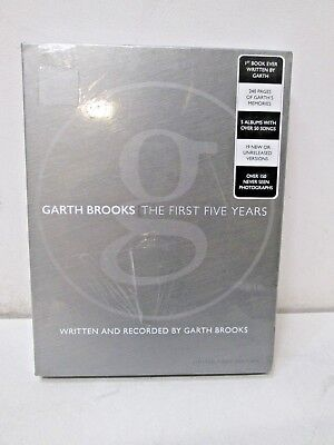 New Sealed Garth Brooks The Anthology Part 1 The First Five Years with 5 CDs