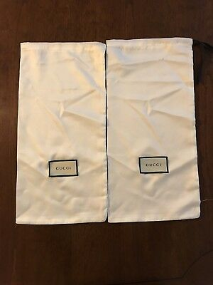 Two Authentic Gucci Shoe Dust Bags Travel Bags Great Deal!!!