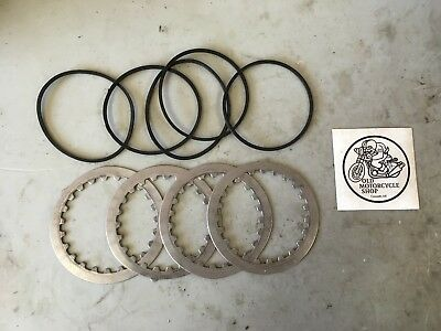 1979 Yamaha Mx100 Clutch Pack Steel Rings And O Rings