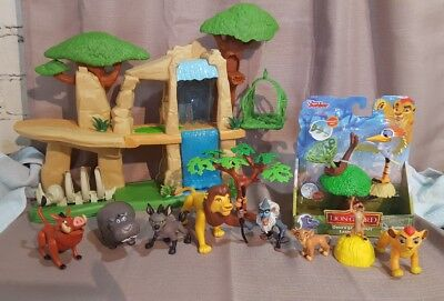 RARE Disney The Lion King lot Cub Simbas Pride Toy PVC Figure 7 pc. imaginext