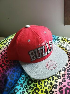 662173aa CHICAGO BULLS MITCHELL & Ness Snapback red/heather gray - $15.00 ...
