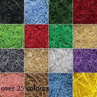 Luxury Shredded Paper Hamper Fill Basket Filler Shred Gift Filling colours