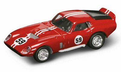 1965 Shelby Cobra Daytona Coupe #59 1/43 Scale Diecast Car By Yat Ming 94242R
