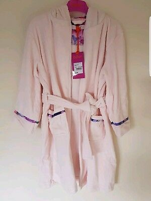 TED BAKER Girls Light Pink Dressing Gown/Robe 6-7 Years New - £9.99 ...