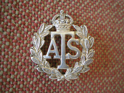 WW2 Auxiliary Transport Service Sterling Silver Member Issue Numbered Pin Badge