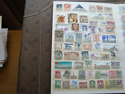 EUROPA (majority poland) - 60 stamps canceled (all state) stamp
