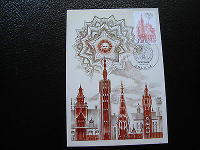 FRANCE - card 1st day 16/10/1982 (beffroi lille) (cy40) french