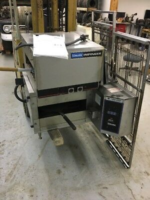 Used Lincoln Impinger Dtf Dual-Tech Finisher Electric Conveyor Oven Pizza 1960