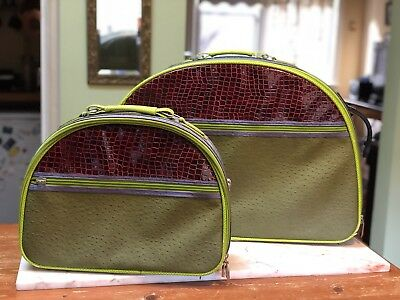 Spencer & Rutherford Amazing Luggage Suitcase Set With Matching Carry On Too