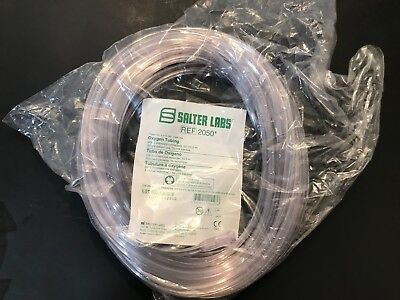 Salter Labs #2050 Oxygen Tubing Latex Free 50 Feet NEW IN PACKAGE