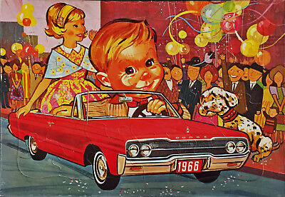1966 Dodge Convertible Promo Jigsaw Puzzle