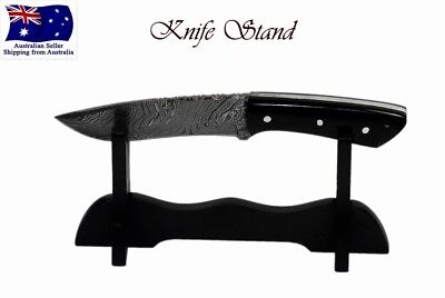 Single Knife Stand Display Collectables Will Fit most knifes AUS FAST SHIPPING !