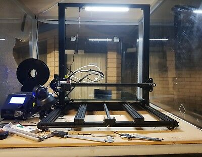 Creality CR-10s S5 3D Printer  Dual Z-Axis 500x500x500m used with Ezabl sensor