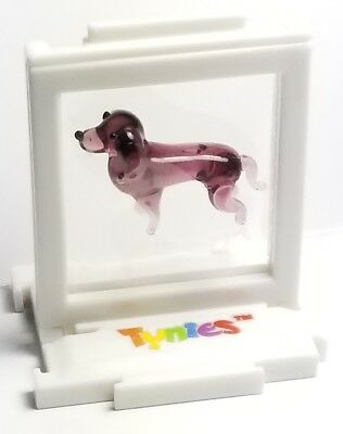Tynies Dog `collection 1 Doc- Dachshund Glass Figurine item # 115 Colors as seen