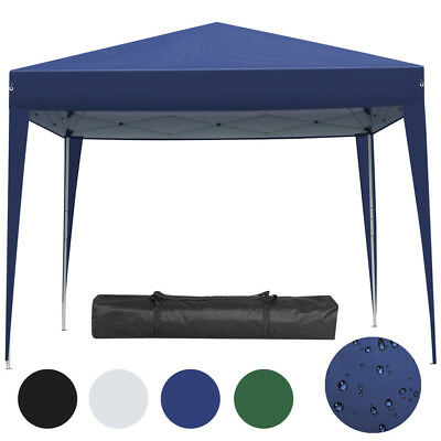 Faltpavillon Pop up Pavillon 3x3m Partyzelt Gartenzelt UV-Schutz wasserdicht