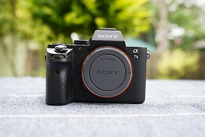 Sony Alpha a7 II 24.3MP Digital Mirrorless Camera (Body Only) with extras