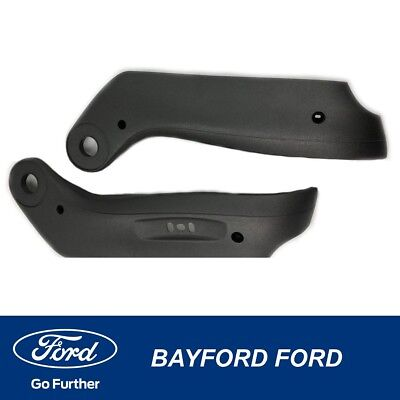 Ford Ba Bf Falcon Drivers Black Seat Shield Side Trim 4Way-Set Of 2 Left/right