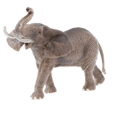 Simulation Elephant Animal Model Wild Life Role Play Figure Figurine Toys