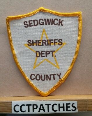 Sedgwick County, Colorado Sheriff (Police) Shoulder Patch Co