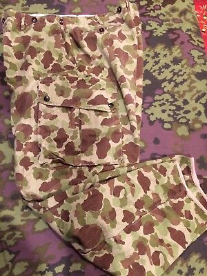 M42 Airborne Camo Trousers Pants WWII Frogskin Camouflage duck hunter 38w x 34I