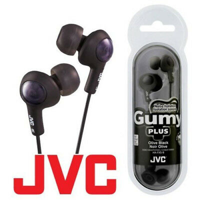 JVC Gumy Gummy Plus HA-FX5 In-Ear Canal Earbuds Headphones Earphones All Colors