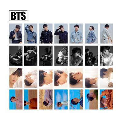 Kpop BTS LOVE YOURSELF 转 Tear Transparent Lomo Cards PVC Photocard - Unofficial