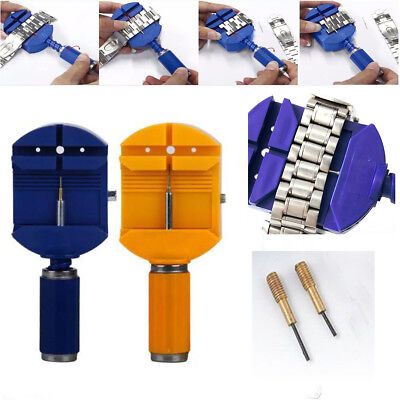 Professional Watch Band Armband Link Remover Adjust Repair Tool +2 Spare Pins