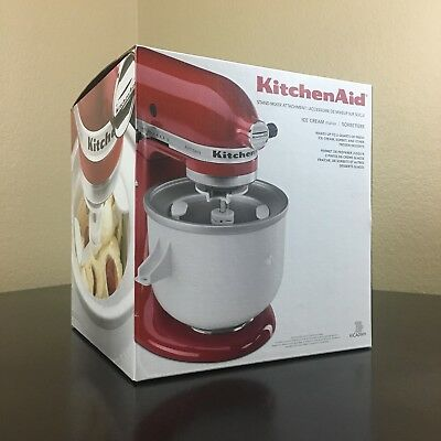 KitchenAid 2-Quart Ice Cream Maker Stand Mixer Attachment - KICAOWH