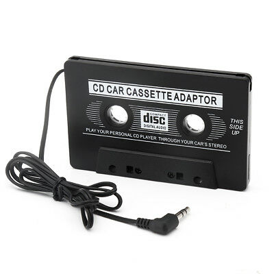 Car Cassette Tape Adapter Converter for MP3 iPhone 4 4S iPod Touch Nano CD MD YT