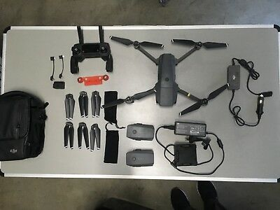 DJI Mavic Drone Pro Fly More Combo - only 10hrs 29 mins Flight Time