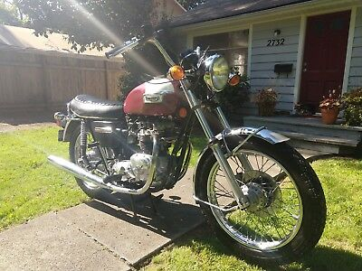 1974 Triumph Bonneville  1974 Triumph Bonneville Barn Find with 2.2K Original Miles
