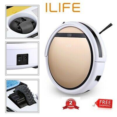 ILIFE V5S Pro Aspirateur Smart Robot Automatique Sans fil Dry Wet Aspirateur FR