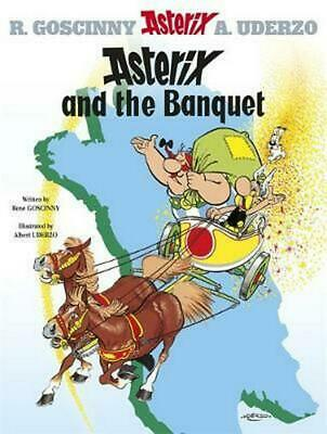 Asterix and the Banquet: Album 5 by Rene Goscinny (English) Paperback Book Free