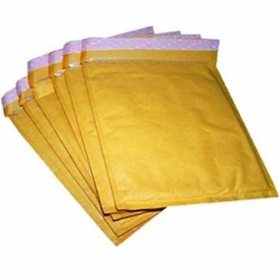 Gold Bubble Lined Postal Envelopes / Bags All Size & Qty
