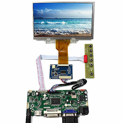 HDMI VGA AV Audio driver board LVDS TCON Board 7inch 800x480 AT070TN92 LCD panel