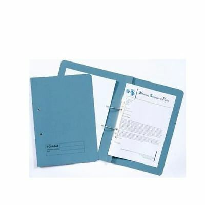 Guildhall Blue Foolscap Right Hand Pocket Spiral File (Pack of 25) [GH25484]