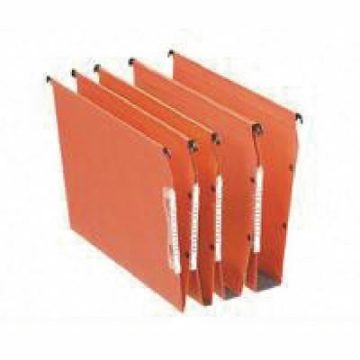 Esselte Orgarex Orange Lateral A4 File 50mm (Pack of 25) 21630 [ES21630]