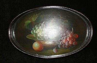 Hand Painted Wooden Tray. Great Item! Nice Display Piece. 1p Start!