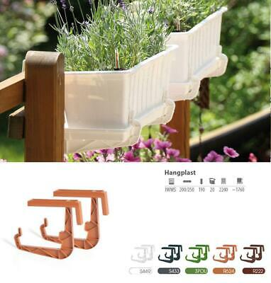 Hooks Hangplast Balcony Bracket Rail Flower Window Support Holder Hook Plastic