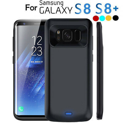 5500mAh External Battery Case Power Bank Charger For Samsung Galaxy S8 S8 Plus