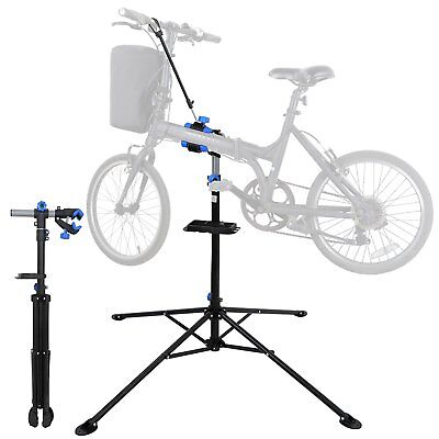 "F2C Portable Adjustable 42.5"" to 74"" Pro Home Steel Maintenance Mechanic Bicycle"